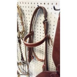 Old Timer Headstall With Quick Change Roller