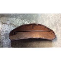 Leather Cantle Bag
