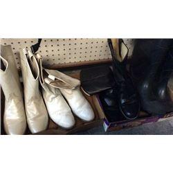 4 Pair Ladies Boots Size 8m