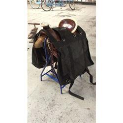 Western Saddle Pannier