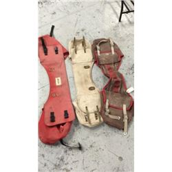 3 Used Saddle Bags
