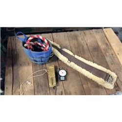 Feed Bag Cinch Scales And Lead Ropes