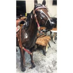 Cowgirl Up Breast Collar And Bridle With Fancy