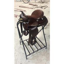 """12"""" Pony Youth Saddle"""