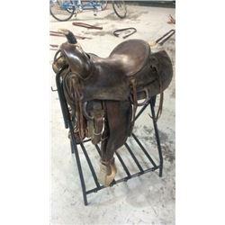 "14"" Otto Ernst  Saddle"