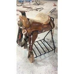 """15"""" Texas Saddlery Saddle"""