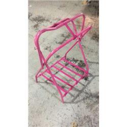 Pink Saddle Stand