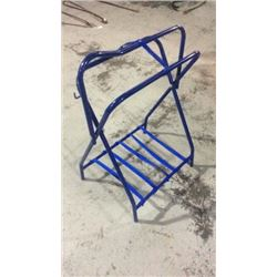 Blue Saddle Stand