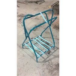 Teal Saddle Stand