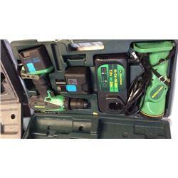 """""""John Deere"""" 18v drill and flash light (et-3503-j)"""