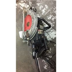 """Craftsman"" 7 1/4 industrial worm drive saw"