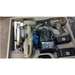 """""""Porter cable"""" 19.2 volt drill and cordless"""