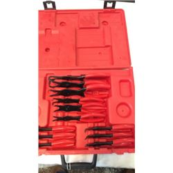 """""""Snap-on"""" ring pliers set"""