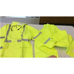 Reflective safety suit (large)