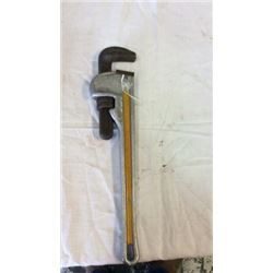 """The ridge""  18"" pipe wrench"