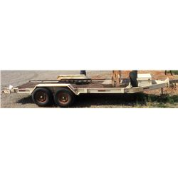 1988 Felling Trailer 22ft. 11,000 Gvw. 16ft Floor
