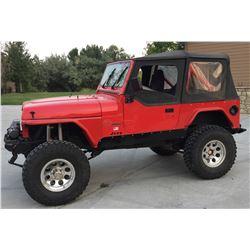 1990 Jeep Wrangler (rock Climber)