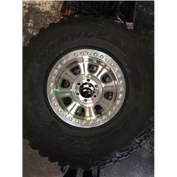 Set Of 4 Jeep Tires And Wheels