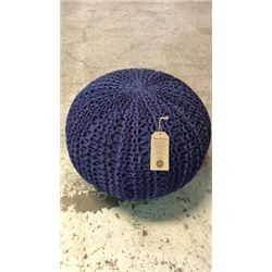Cotton Pouf By Barrel Shack