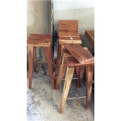 Waton By Barrel Shack Damaged Stools