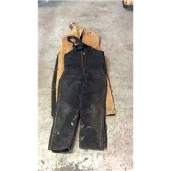 2 Pair Coverall Bibs