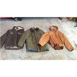 3 Work Jackets