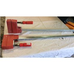 """2 """" Bessey"""" clamps"""
