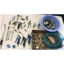 "Lot of air fittings, and attachments  ""blue"