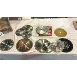 12 saw blades ( satin cut, cut-off, and other