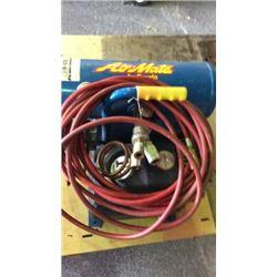 """Air mate by """" emqlo"""" 1 1/2 hp air compressor"""