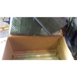 Box lot of foam padding and heavy duty service