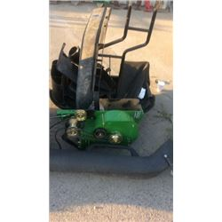 John Deere lawn mower attachments