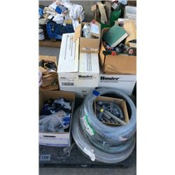 Pallet of Rain Bird Sprinkler Items