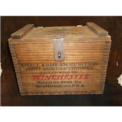 "Winchester Box- Dovetailed- 15""L X 9.5"" W X 10.5""H"