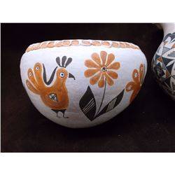 "Acoma Pots- C. 1960- 5""H X 8"" W (Has Crack)- 8""H X 5.5""W"