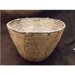"""Vintage Papago Basket- 7.5"""" H X 11"""" W"""