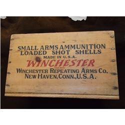 "Winchester Shot Shells Box 15""L X 9""H X 9""D"