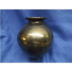 """Oaxaca Mexico Pot- Signed Dona Rosa- 6.5""""H X 5.5""""W"""