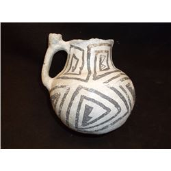 "Tularosa Basin Pot- C. 1600- Some Restoration- 4.5""H X 4.5""W"