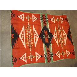 """Navajo Blanket- 70""""L X 53""""W"""