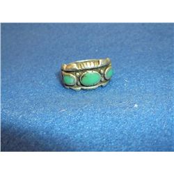 Sterling and Turqoise Ring