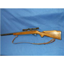 Marlin B1 Rifle- .22 S-L-LR- Bolt- Sling- 4 Power Bushnell Banner Scope- Micro-Groove Barrel