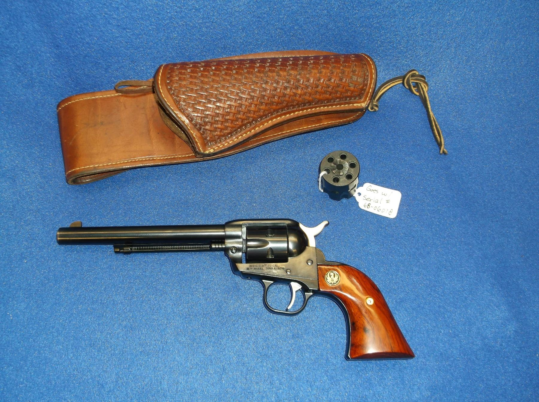 Ruger Single Six New Model  22- 22Mag Revolver- 6 5