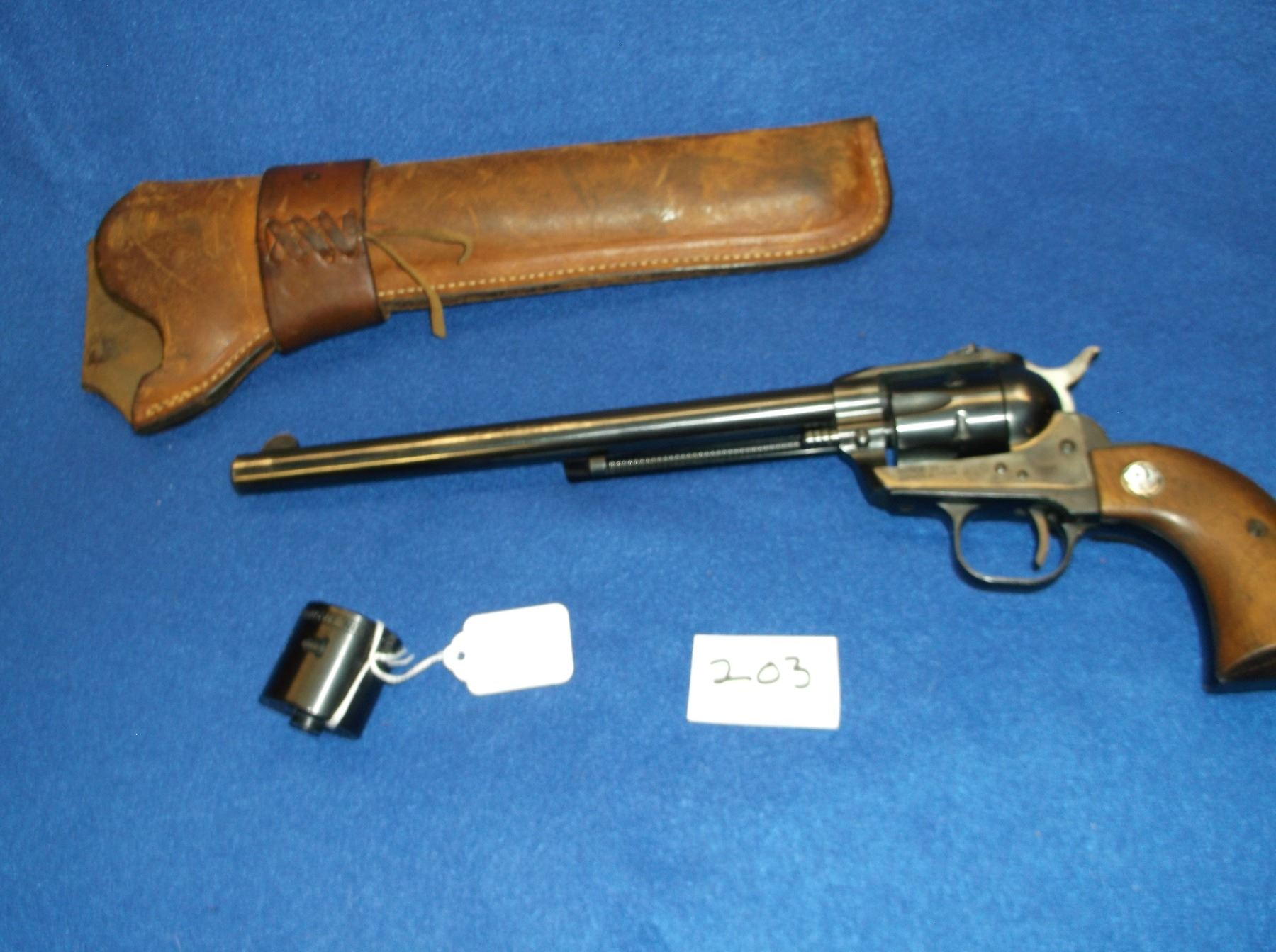 Ruger Single Six  22- 22Mag Revolver-9 5
