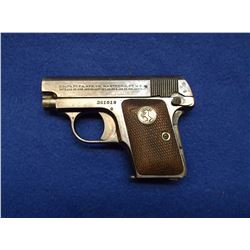 Colt 1908 Automatic Pocket Pistol-.25- #351019