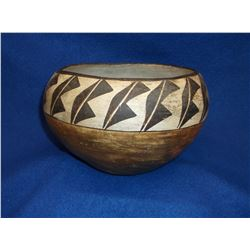 """Early Acoma Pot- Hand Coiled- 5.5""""H X 7.5""""W"""