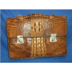 """Alligator Briefcase- 11""""H X 16""""W"""