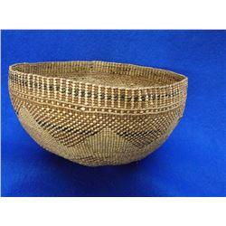 """Northwest Basket- C.1900- 3.5""""H X 8""""W"""