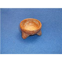 "Pre- Columbian Medicine Vase- 1.25""H X 2.25""W"