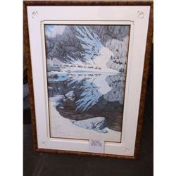"Signed and Numbered Bev Doolittle Print- ""Seasons of the Eagle"" 26438/ 36548- Frame 36""H X 27"" W"